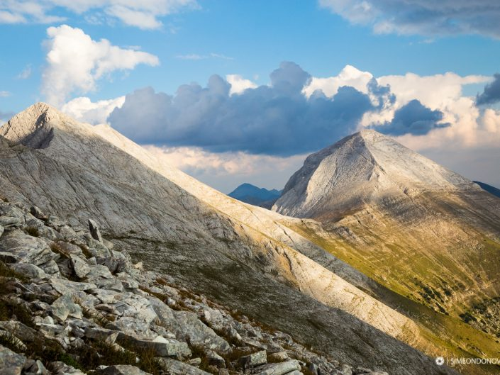 Мраморният дял на Пирин - Кончето, Кутело и Вихрен. Национален парк Пирин.