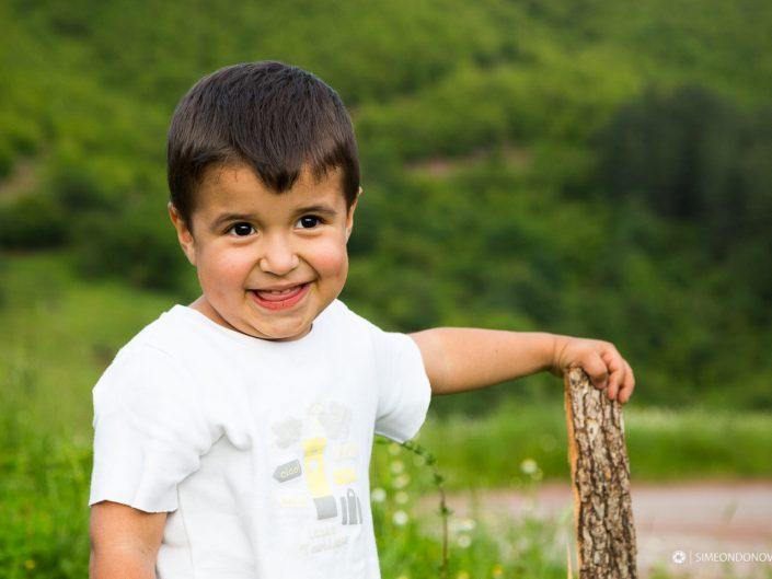 Детска портретна фотография, София