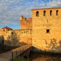 Крепост Баба Вида, град Видин. Забележителности България. Български забележителности.