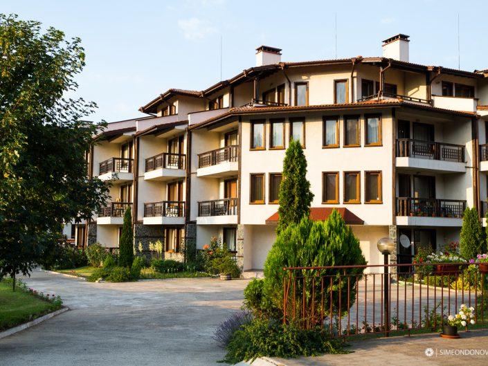 Хотел Еделвайс Парк, град Банско. Архитектурна фотография - София