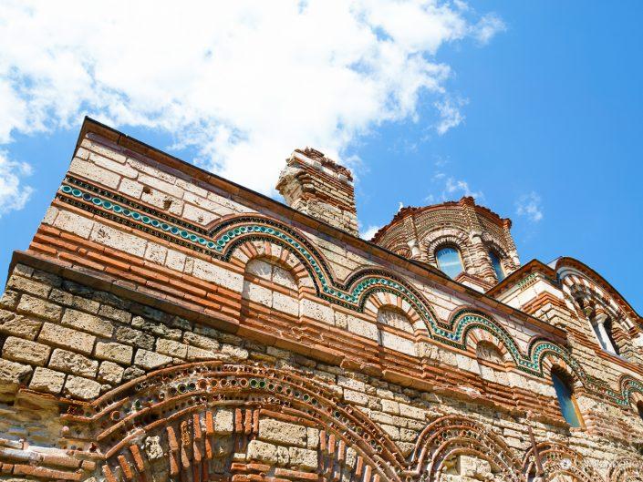 """Църква """"Христос Пантократор"""", град Несебър. Забележителности България. Български забележителности."""