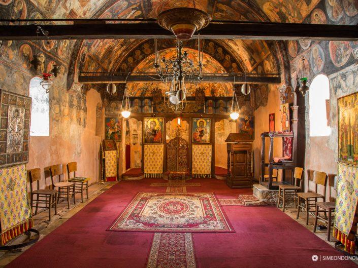 """Средновековна църква """"Свети Пантелеймон"""", Видин. Интериорна фотография. Забележителности България. Български забележителности."""
