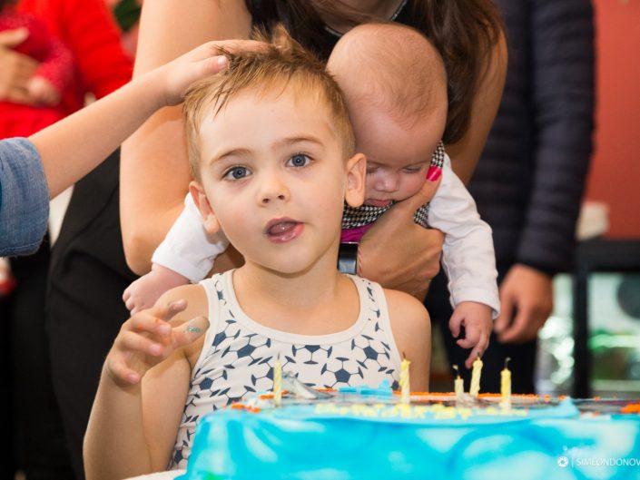 Детски рожден ден, София. Детска портретна фотография.