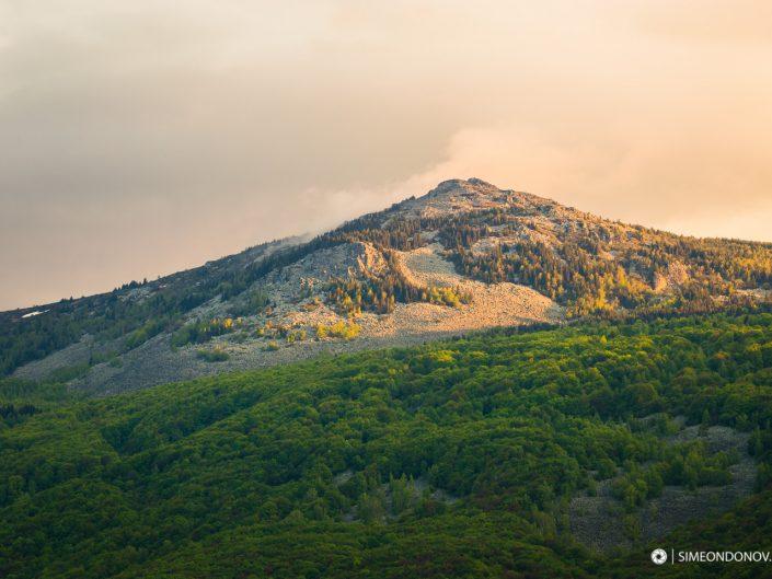 Залезът и връх Камен дел, Природен парк Витоша