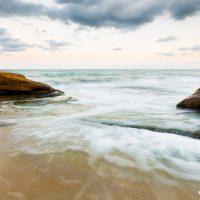 Залезът и морето, село Равда