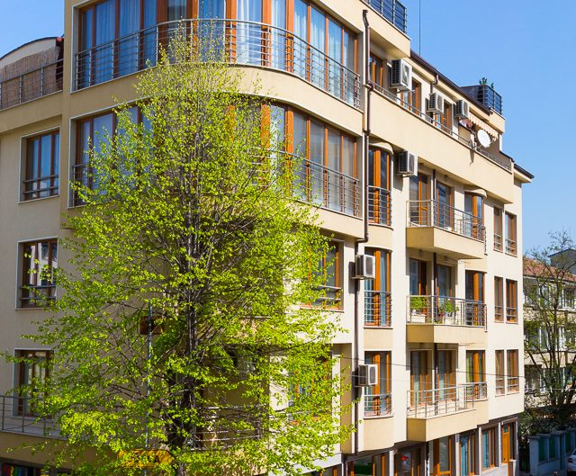 Жилищна сграда, архитектурно бюро РУМИНА – АМ ЕООД. Архитектурна фотография - София