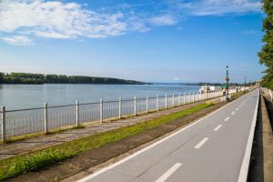 Дунавският бряг, град Видин