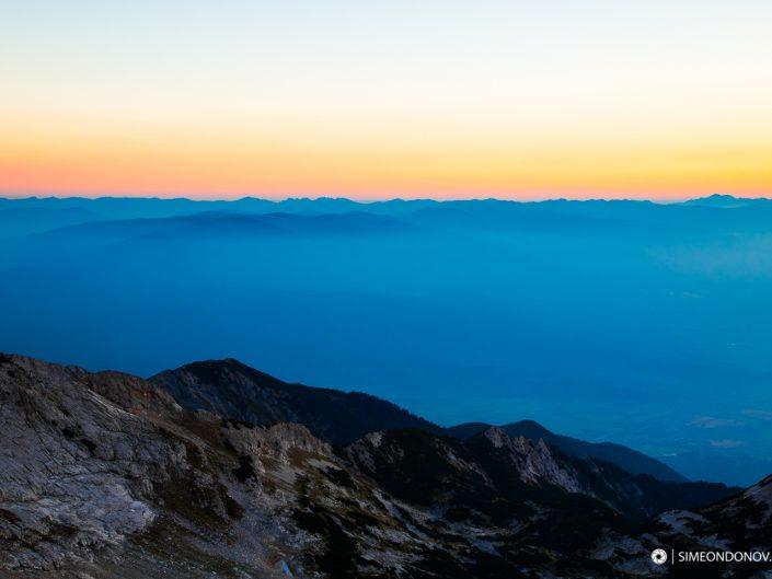 Изглед към Национален парк Рила - поглед от Пирин, Национален парк Пирин