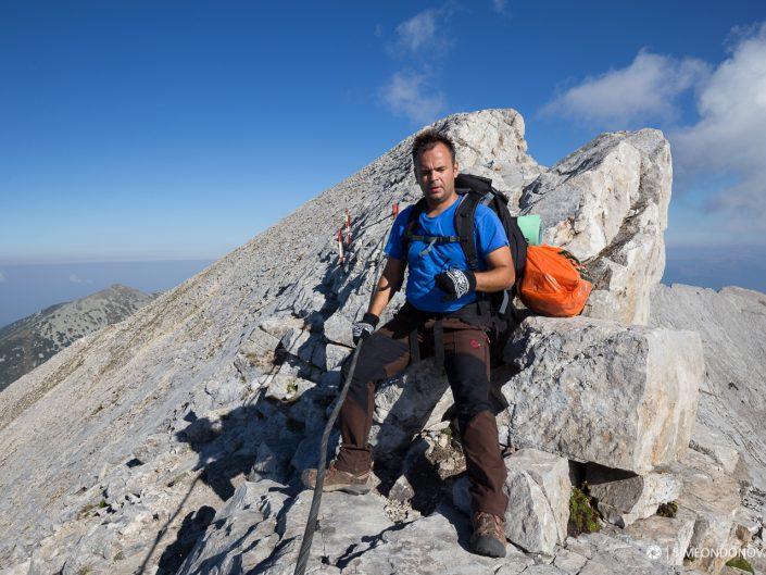 Преминаване на Кончето - под връх Бански суходол, Национален парк Пирин