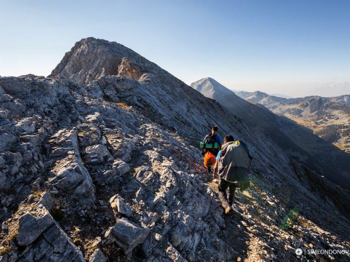 Пътеката за Кончето преди връх Бански суходол, Национален парк Пирин