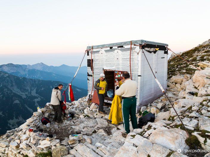 Приказният заслон Кончето - 2760 м надморска височина, Национален парк Пирин