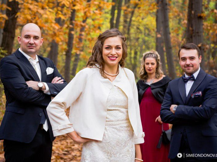 Сватбена фотография, София