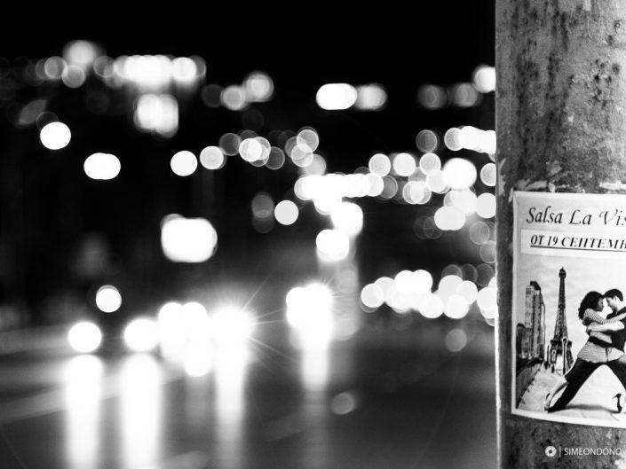 В светлината на града - София. Градска фотография