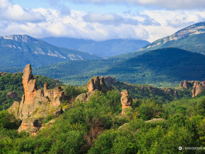 Изглед към Белоградчишки скали