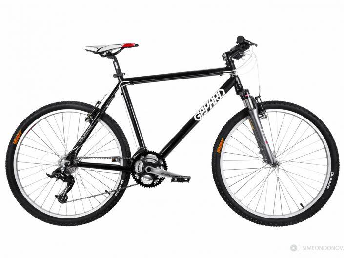 Продуктова фотография на велосипеди за www.gepard.bg