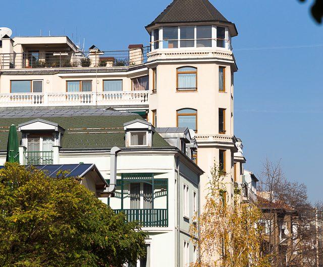 Жилищна сграда - строителна фирма ТОБО ООД. Архитектурна фотография - София