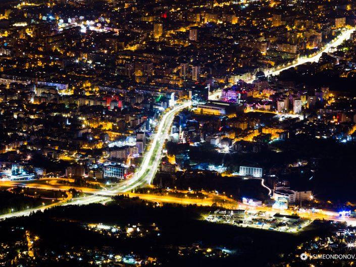 Из нощта на града - София