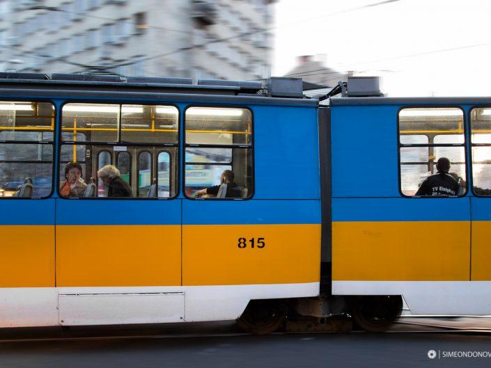 Из градското ежедневие - София. Градска фотография