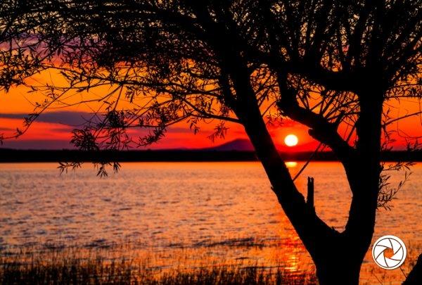 По залез, Рабишко езеро