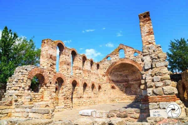 """Базиликата """"Света София"""" (Старата митрополия), град Несебър"""