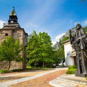 Кула на Мешчиите и паметник на Св. Св. Кирил и Методий, град Враца
