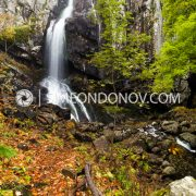 Боянски водопад, есен в парк Витоша