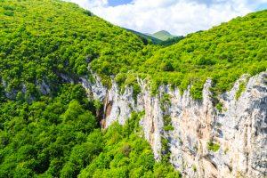 Водопад Женската вода, Природен парк Врачански Балкан
