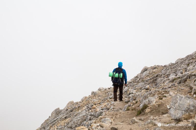 На слизане от Вихрен към Премката