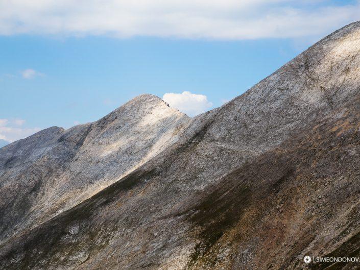 Седловина Кончето на карстовото било, Национален парк Пирин