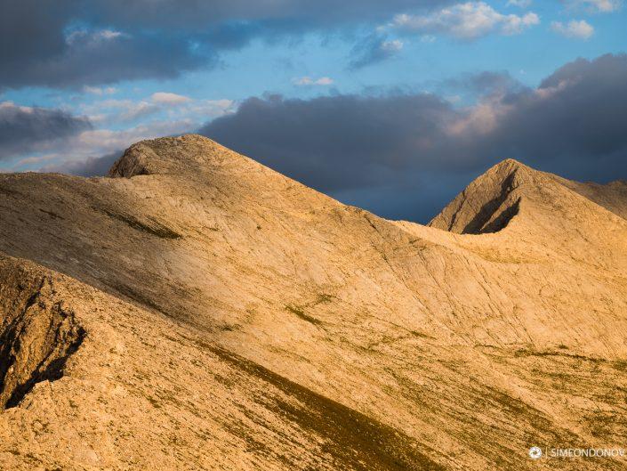 Карстов ръб Кончето - седловината между връх Бански суходол и връх Кутело, Национален парк Пирин