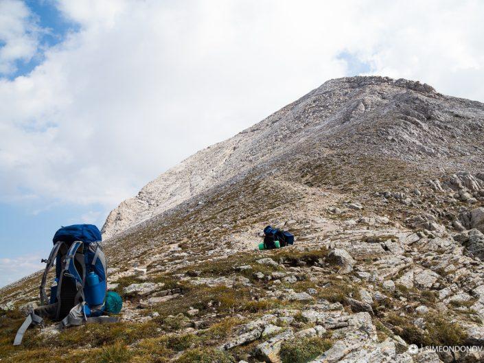 Изкачване към връх Кутело, Национален парк Пирин