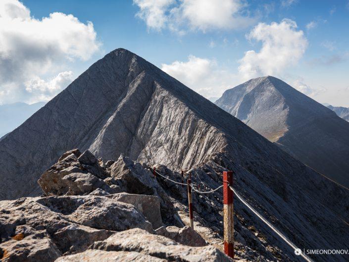 Изглед към Кончето, Кутело и връх Вихрен - Национален парк Пирин