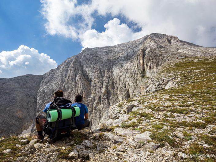 Северната стена на връх Вихрен, Национален парк Пирин